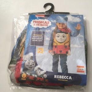 Thomas and friends Rebecca toddler costume 3T-4T